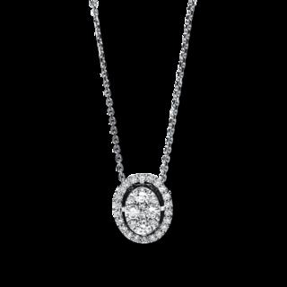 Brogle Selection Halskette mit Anhänger Illusion 4F124W8-1