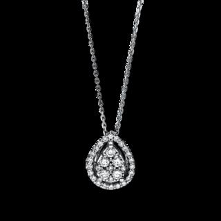 Brogle Selection Halskette mit Anhänger Illusion 4F125W4-1