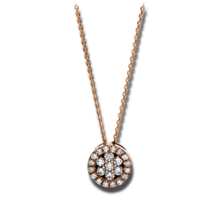 Brogle Selection Halskette mit Anhänger Illusion 4F129R8-1