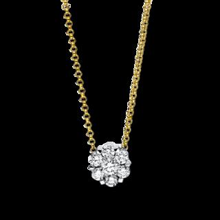 Brogle Selection Halskette mit Anhänger Illusion 4F136GW8-2