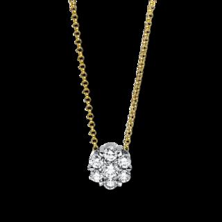 Brogle Selection Halskette mit Anhänger Illusion 4F137GW8-2