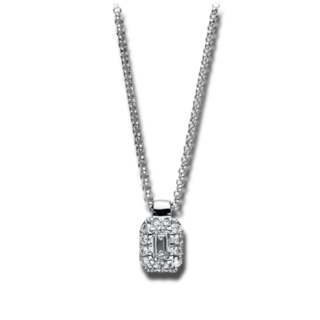 Brogle Selection Halskette mit Anhänger Illusion 4F139W8-2
