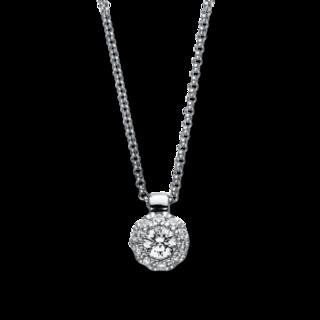 Brogle Selection Halskette mit Anhänger Illusion 4F141W8-2