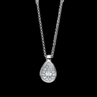 Brogle Selection Halskette mit Anhänger Illusion 4F143W8-2