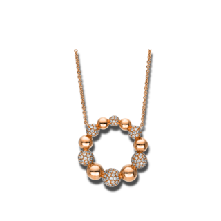Brogle Selection Halskette mit Anhänger Illusion 4F162R8-1