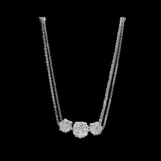 Brogle Selection Halskette mit Anhänger Illusion 4F233W8-1