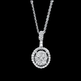 Brogle Selection Halskette mit Anhänger Illusion 4F240W8-1
