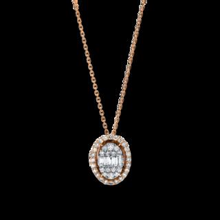 Brogle Selection Halskette mit Anhänger Illusion 4F245RW4-1
