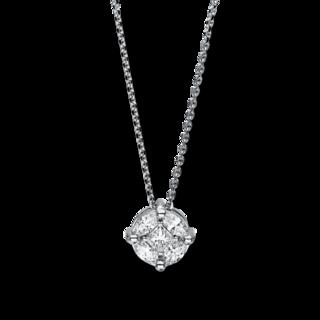Brogle Selection Halskette mit Anhänger Illusion 4F247W8-1
