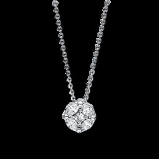 Brogle Selection Halskette mit Anhänger Illusion 4F248W8-1