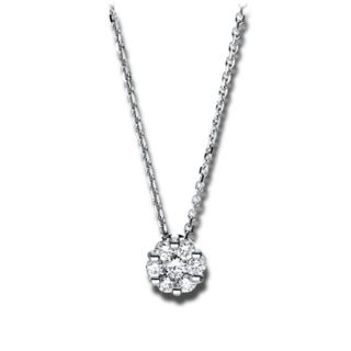 Brogle Selection Halskette mit Anhänger Illusion 4F254W4-1
