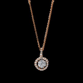 Brogle Selection Halskette mit Anhänger Illusion 4F256RW8-1