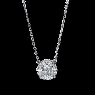 Brogle Selection Halskette mit Anhänger Illusion 4F307W8-1