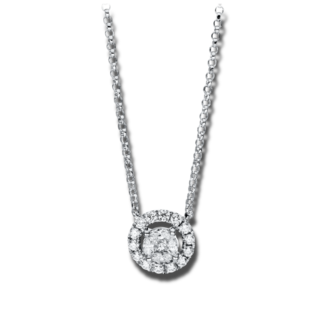 Brogle Selection Halskette mit Anhänger Illusion 4F329W8-2