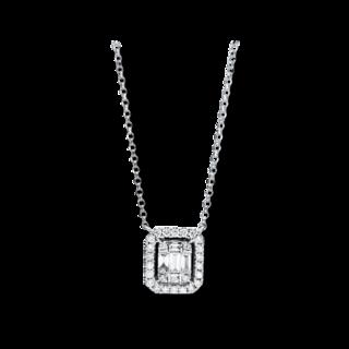 Brogle Selection Halskette mit Anhänger Illusion 4F335W8-3