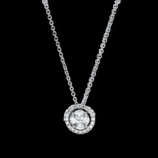 Brogle Selection Halskette mit Anhänger Illusion 4F346W8-2