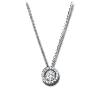 Brogle Selection Halskette mit Anhänger Illusion 4F349W8-2