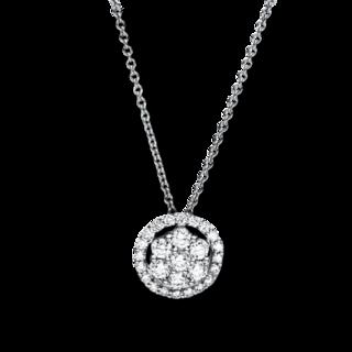 Brogle Selection Halskette mit Anhänger Illusion 4F353W8-2