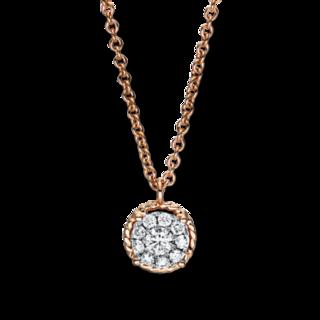 Brogle Selection Halskette mit Anhänger Illusion 4F361R8-1