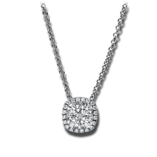 Brogle Selection Halskette mit Anhänger Illusion 4F365W8-1