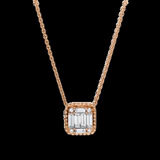 Brogle Selection Halskette mit Anhänger Illusion 4F377R8-1