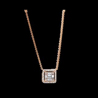 Brogle Selection Halskette mit Anhänger Illusion 4F379R8-1