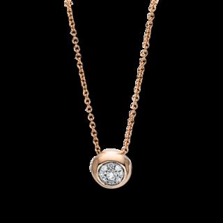 Brogle Selection Halskette mit Anhänger Illusion 4F384R8-1