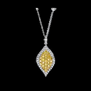 Brogle Selection Halskette mit Anhänger Illusion 4F429WG4-1