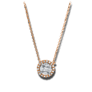Brogle Selection Halskette mit Anhänger Illusion 4F452R8-1