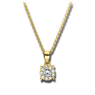 Brogle Selection Halskette mit Anhänger Illusion 4F455G8-1