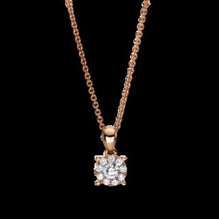 Brogle Selection Halskette mit Anhänger Illusion 4F455R8-1