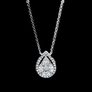 Brogle Selection Halskette mit Anhänger Illusion 4F456W8-1