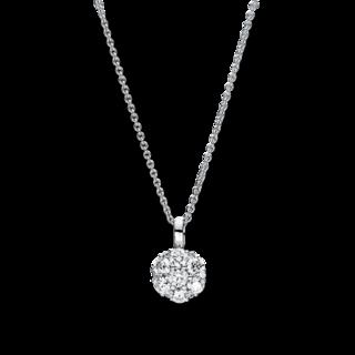 Brogle Selection Halskette mit Anhänger Illusion 4F458W8-1