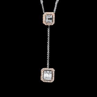 Brogle Selection Halskette mit Anhänger Illusion 4F470WR8-1