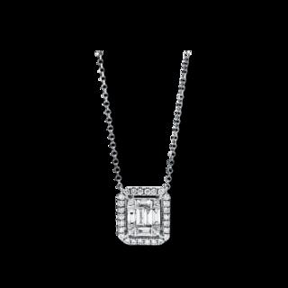 Brogle Selection Halskette mit Anhänger Illusion 4F471W8-1