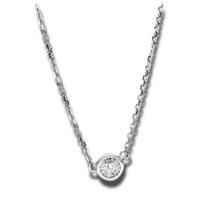 Brogle Selection Halskette mit Anhänger Illusion 4F491W8-1