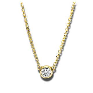 Brogle Selection Halskette mit Anhänger Illusion 4F492G8-1