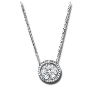 Brogle Selection Halskette mit Anhänger Illusion 4F544W8-1