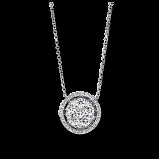 Brogle Selection Halskette mit Anhänger Illusion 4F546W8-1