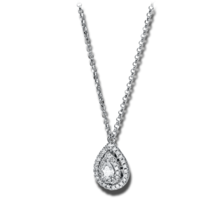 Brogle Selection Halskette mit Anhänger Illusion 4F553W8-1