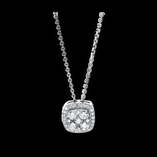 Brogle Selection Halskette mit Anhänger Illusion 4F583W4