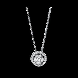 Brogle Selection Halskette mit Anhänger Illusion 4F585W8