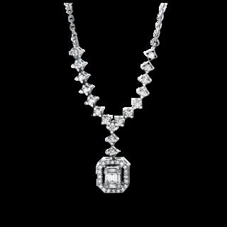 Brogle Selection Halskette mit Anhänger Illusion 4F586W4