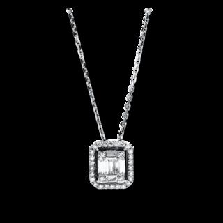 Brogle Selection Halskette mit Anhänger Illusion 4F587W8