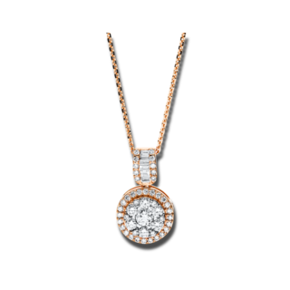 Brogle Selection Halskette mit Anhänger Illusion 4F589R8