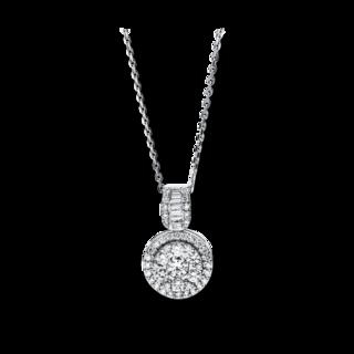 Brogle Selection Halskette mit Anhänger Illusion 4F589W8