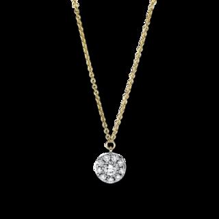 Brogle Selection Halskette mit Anhänger Illusion 4F630G8-1