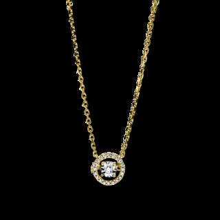Brogle Selection Halskette mit Anhänger Illusion 4F660GW8-1