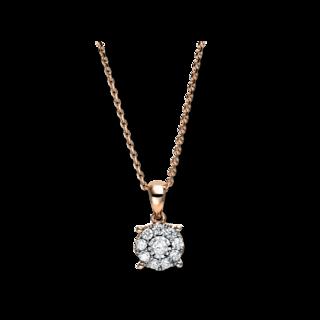 Brogle Selection Halskette mit Anhänger Illusion 4F695RW