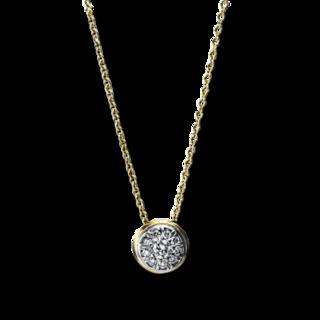 Brogle Selection Halskette mit Anhänger Illusion 4F721GW4-1